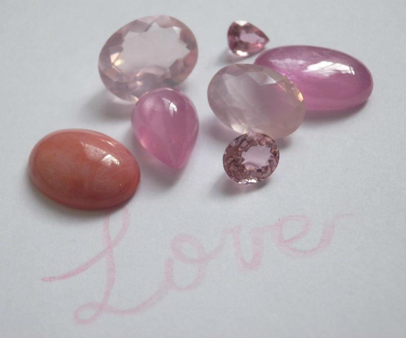 ピンク石の魔法